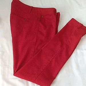 Tinseltown Red Pants 11